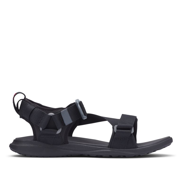 COLUMBIA™ SANDAL | 010 | 11 Sandali Columbia™ da uomo, Black, Red Element, front