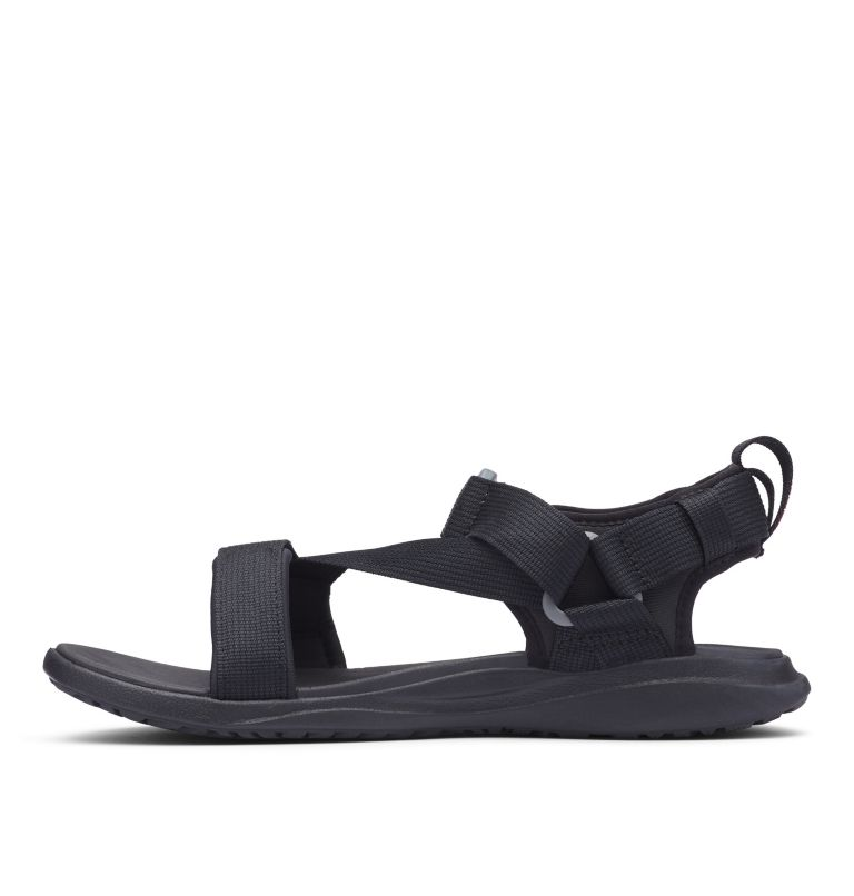 COLUMBIA™ SANDAL | 010 | 11 Sandali Columbia™ da uomo, Black, Red Element, medial