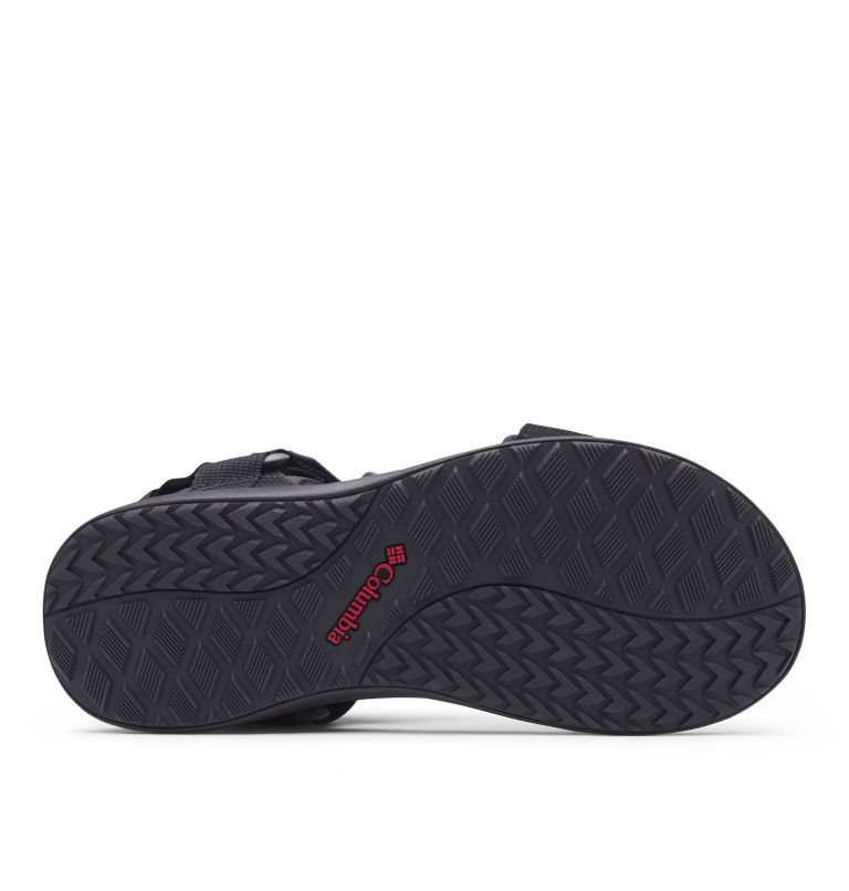 COLUMBIA™ SANDAL | 010 | 11 Sandali Columbia™ da uomo, Black, Red Element