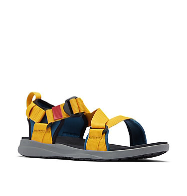 Men's Columbia™ Sandal COLUMBIA™ SANDAL | 403 | 8, Petrol Blue, Golden Yellow, 3/4 front