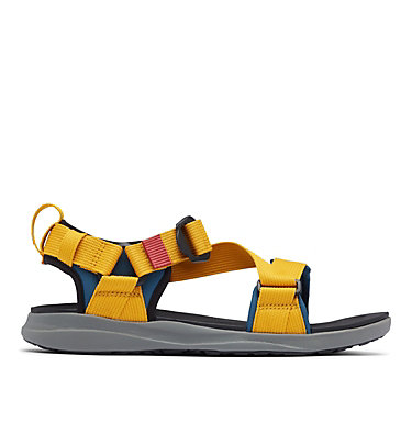 Men's Columbia™ Sandal COLUMBIA™ SANDAL | 053 | 10, Petrol Blue, Golden Yellow, front