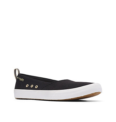 Women's PFG Dorado™ Slip II Shoe DORADO™ PFG SLIP II | 010 | 11, Black, Oatmeal, 3/4 front