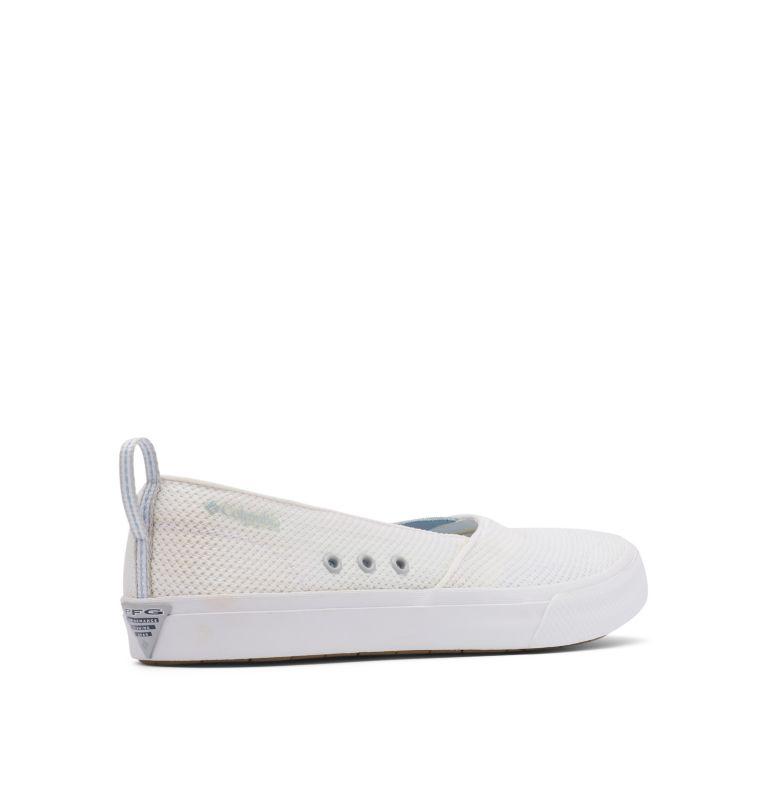 DORADO™ PFG SLIP II | 100 | 7 Women's PFG Dorado™ Slip II Shoe, White, Mirage, 3/4 back
