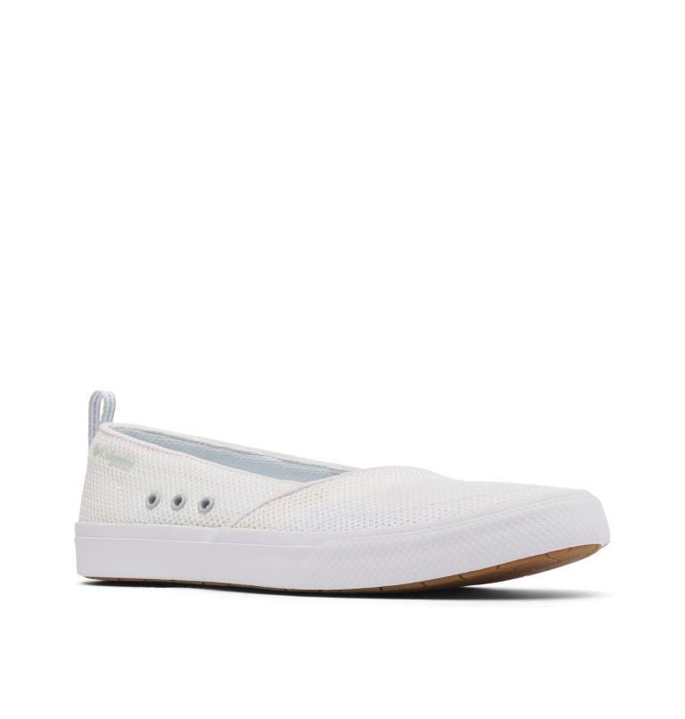DORADO™ PFG SLIP II | 100 | 7 Women's PFG Dorado™ Slip II Shoe, White, Mirage, 3/4 front
