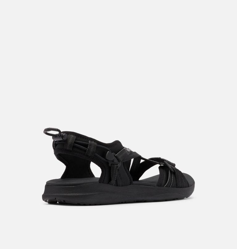 COLUMBIA™ SANDAL | 010 | 11 Women's Columbia™ Sandal, Black, Ti Grey Steel, 3/4 back