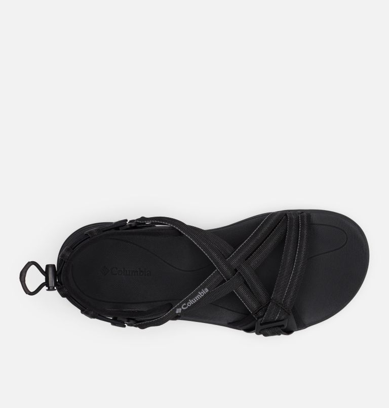 COLUMBIA™ SANDAL | 010 | 11 Women's Columbia™ Sandal, Black, Ti Grey Steel, top