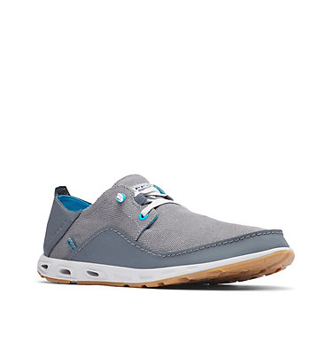 Men's PFG Bahama™ Vent Loco Relaxed III Shoe - Wide BAHAMA™ VENT LOCO RELAX III WIDE   241   10, Graphite, Blue Chill, 3/4 front