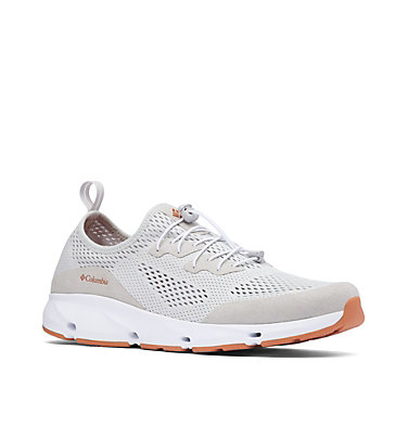 Men's Columbia Vent™ Shoe COLUMBIA VENT™ | 421 | 10.5, Grey Ice, Island Orange, 3/4 front