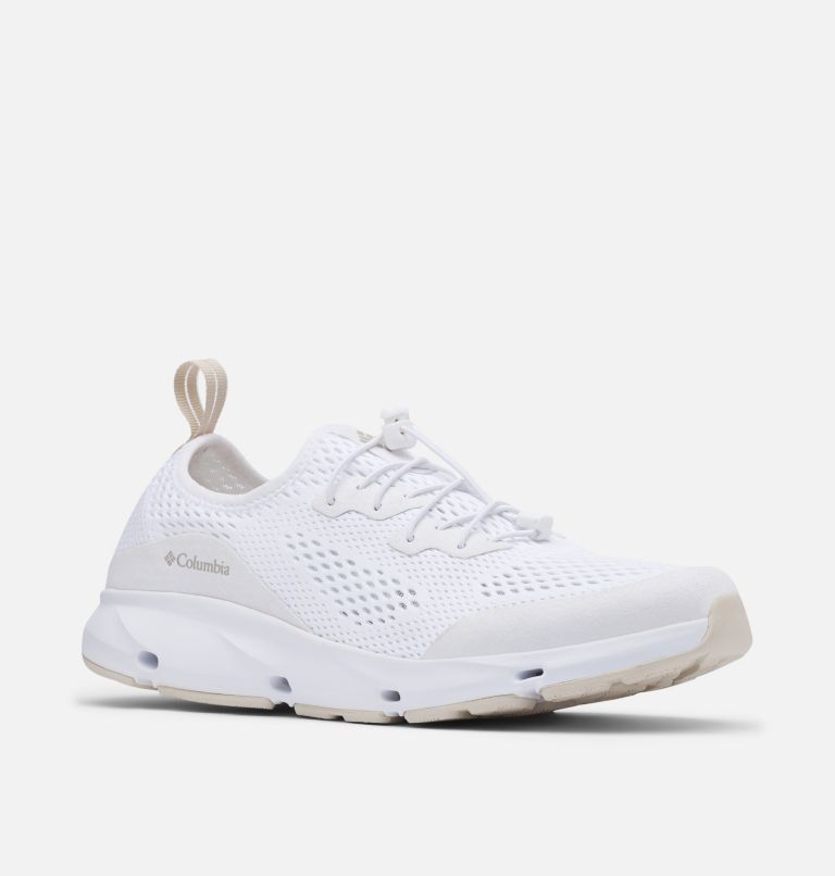 COLUMBIA VENT™ | 100 | 7.5 Women's Columbia Vent™ Shoe, White, Dark Stone, 3/4 front