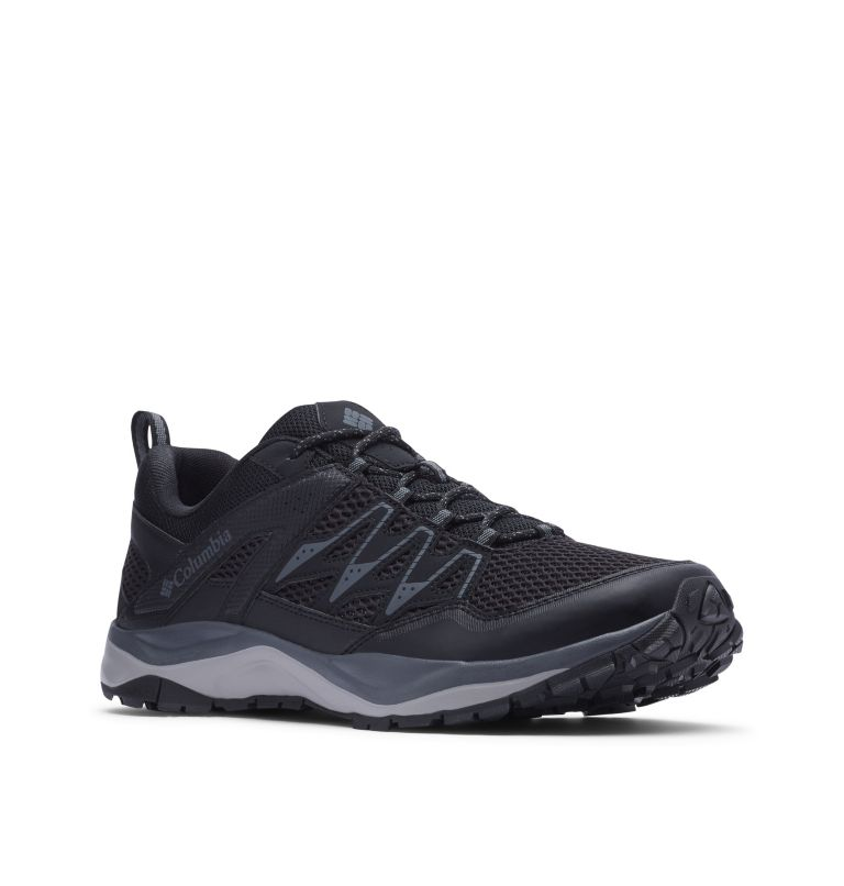 WAYFINDER™ II | 010 | 9 Men's Wayfinder™ II Hiking Shoe, Black, Graphite, 3/4 front