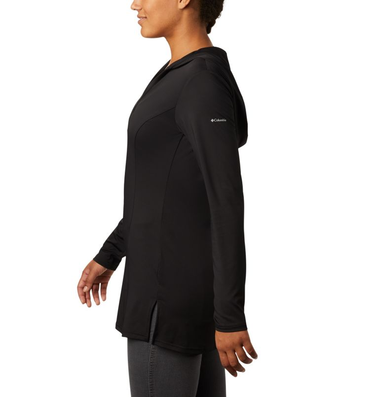 Chill River™ Hooded Tunic | 010 | XL Women's Chill River™ Hooded Tunic, Black, a1