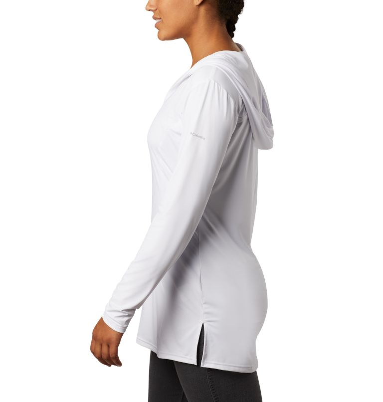 Chill River™ Hooded Tunic   100   XL Women's Chill River™ Hooded Tunic, White, a1