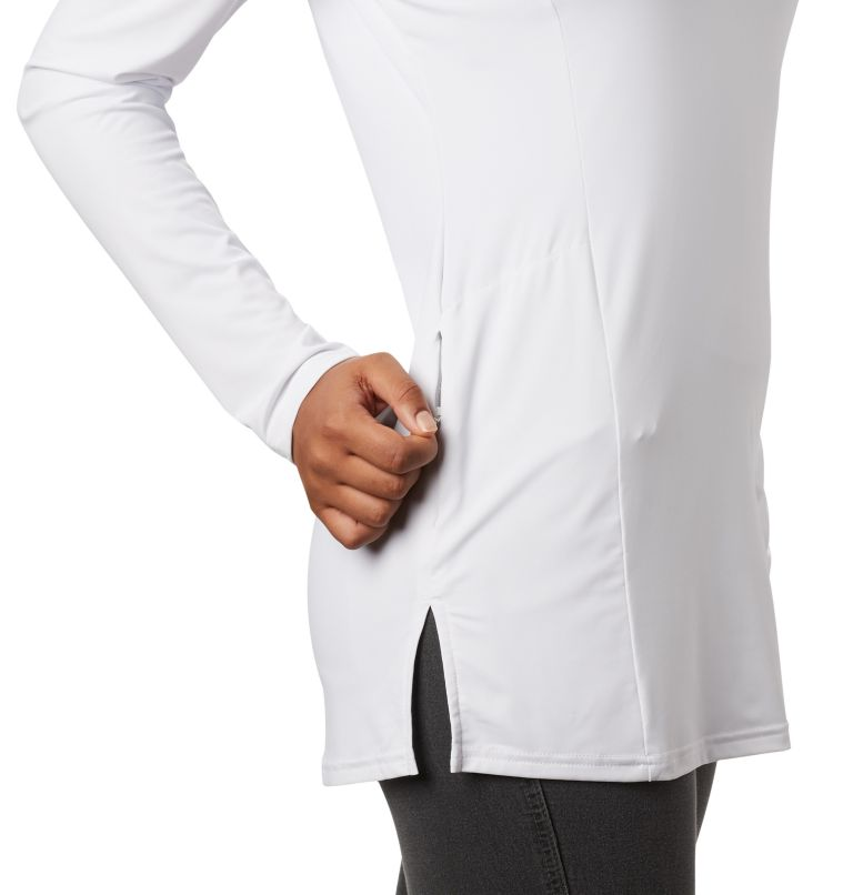 Chill River™ Hooded Tunic | 100 | S Women's Chill River™ Hooded Tunic, White, a3