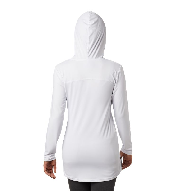 Chill River™ Hooded Tunic | 100 | S Women's Chill River™ Hooded Tunic, White, back
