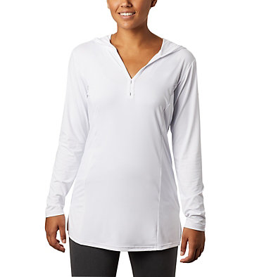 Tunique à capuchon Chill River™ pour femme Chill River™ Hooded Tunic | 847 | XS, White, front