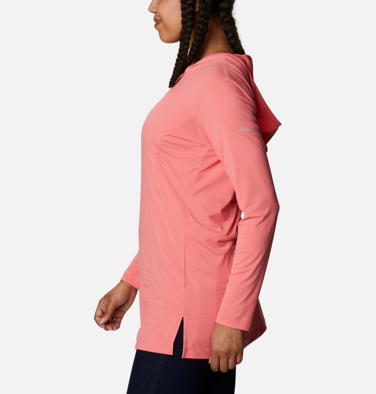 Chill River™ Hooded Tunic   699   XS Women's Chill River™ Hooded Tunic, Salmon, a1