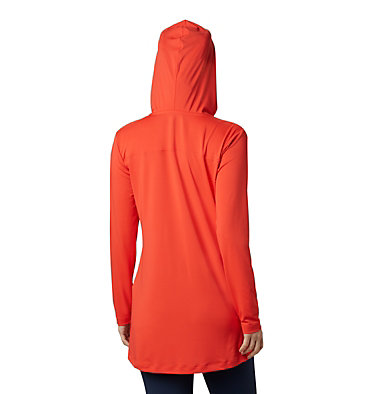 Tunique à capuchon Chill River™ pour femme Chill River™ Hooded Tunic | 847 | XS, Bright Poppy, back
