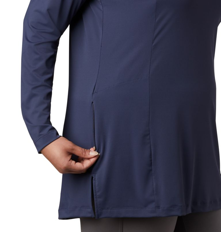 Women's Chill River™ Hooded Tunic - Plus Women's Chill River™ Hooded Tunic - Plus, a3
