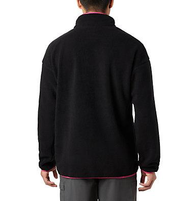 Unisex Helvetia™ Half-Snap Fleece Pullover Helvetia™ Half Snap Fleece | 450 | XL, Black, back