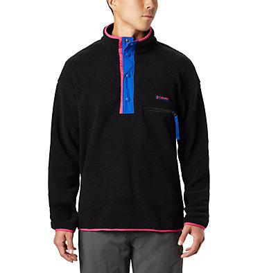 Unisex Helvetia™ Half-Snap Fleece Pullover Helvetia™ Half Snap Fleece | 450 | XL, Black, front