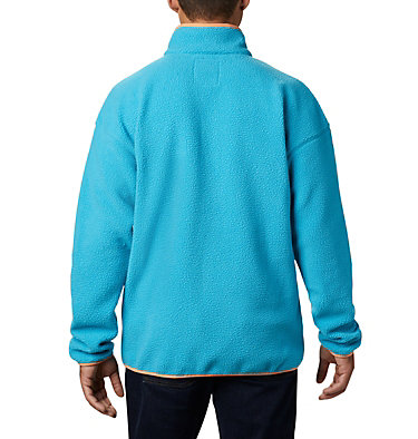 Unisex Helvetia™ Half-Snap Fleece Pullover Helvetia™ Half Snap Fleece | 450 | XL, Clear Water, back