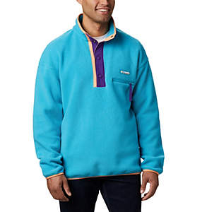Unisex Helvetia™ Half-Snap Fleece Pullover