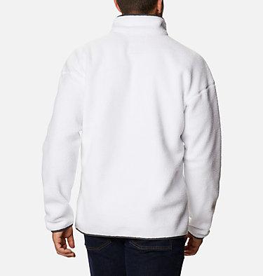 Unisex Helvetia™ Streetwear Fleece Helvetia™ Half Snap Fleece | 101 | XS, White, Nimbus Grey, back