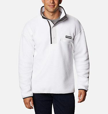Unisex Helvetia™ Streetwear Fleece Helvetia™ Half Snap Fleece | 101 | XS, White, Nimbus Grey, front