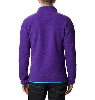 Unisex Helvetia™ Streetwear Fleece Helvetia™ Half Snap Fleece | 101 | XS, Vivid Purple, back