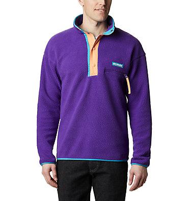 Unisex Helvetia™ Streetwear Fleece Helvetia™ Half Snap Fleece | 101 | XS, Vivid Purple, front