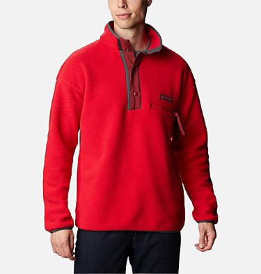 Unisex Helvetia™ Streetwear Fleece Helvetia™ Half Snap Fleece | 101 | XS, Mountain Red, Red Jasper, front