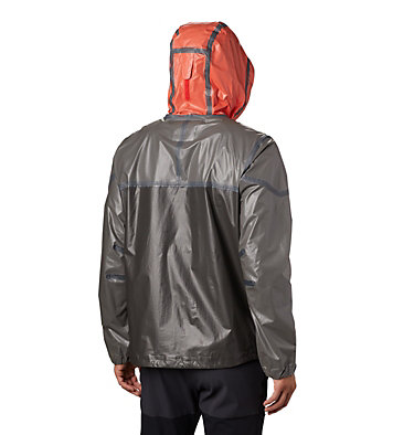 Men's OutDry Ex™ Lightweight Jacket OutDry Ex™ Lightweight Jacket | 845 | L, Wildfire, City Grey, Black, back