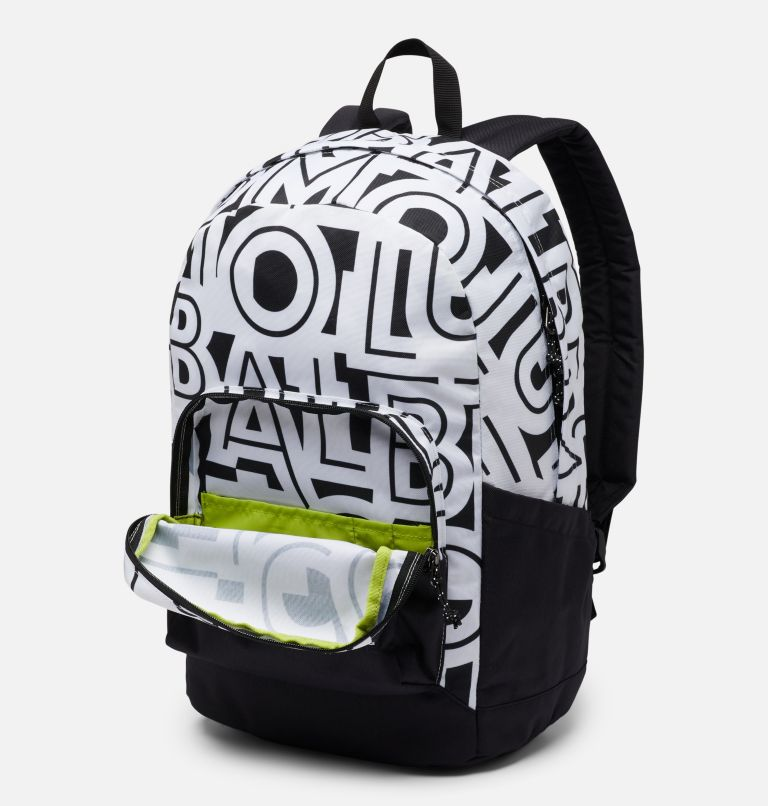 Zigzag™ 22L Backpack | 100 | O/S Zigzag™ 22L Backpack, White Typo, Black, a1