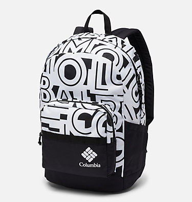 Zigzag™ 22L Backpack Zigzag™ 22L Backpack | 316 | O/S, White Typo, Black, front