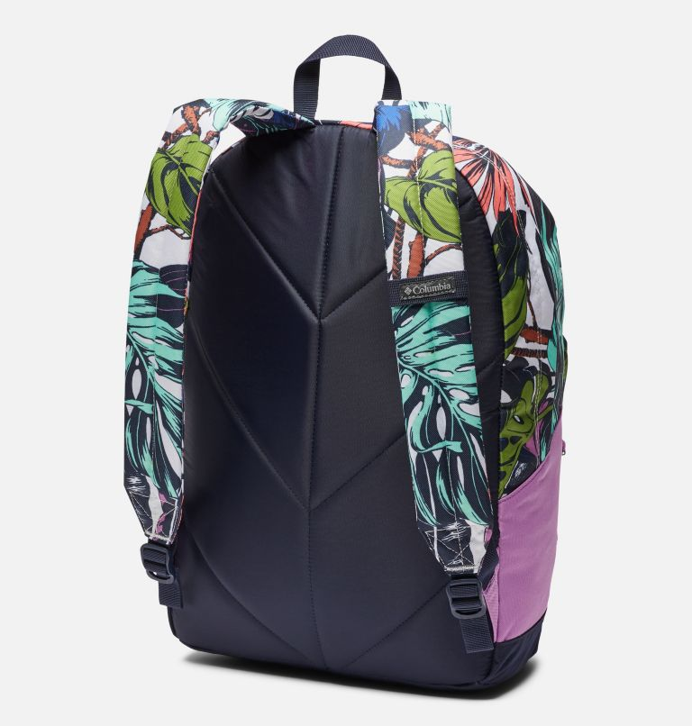 Zigzag™ 22L Backpack | 101 | O/S Zigzag™ 22L Backpack, White Toucanical, Blossom Pink, back