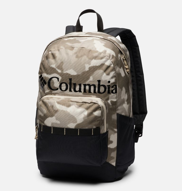 Zigzag™ 22L Backpack   271   O/S Sac à dos 22L Zigzag™, Ancient Fossil Spotted Camo, Black, front
