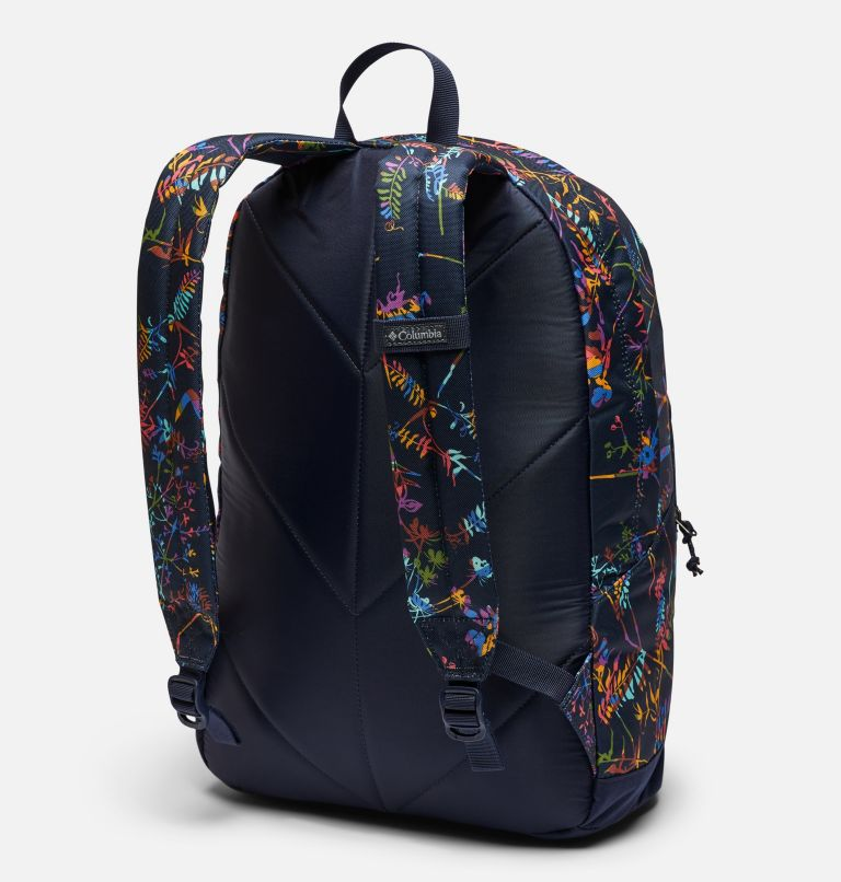 Zigzag™ 22L Backpack   472   O/S Zigzag™ 22L Backpack, Dark Nocturnal Art Bouquet, back