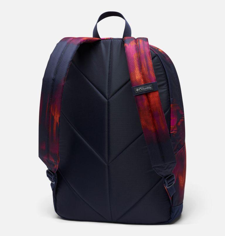 Zigzag™ 22L Backpack   473   O/S Zigzag™ 22L Backpack, Dark Nocturnal Folk Blur Print, back