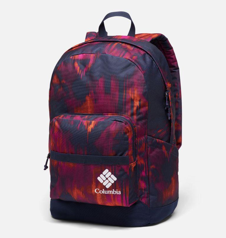 Zigzag™ 22L Backpack   473   O/S Zigzag™ 22L Backpack, Dark Nocturnal Folk Blur Print, front