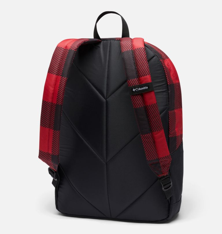 Zigzag™ 22L Backpack | 613 | O/S Zigzag™ 22L Backpack, Mountain Red Check Print, back