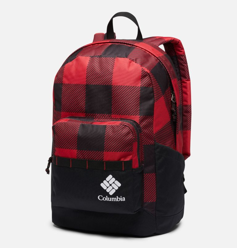 Zigzag™ 22L Backpack | 613 | O/S Zigzag™ 22L Backpack, Mountain Red Check Print, front