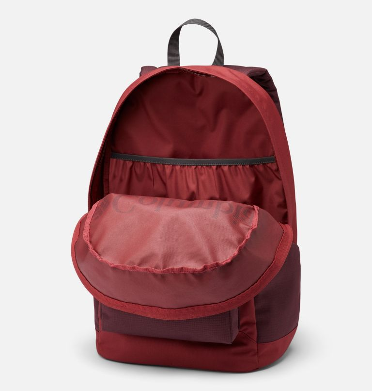 Zigzag™ 22L Backpack   619   O/S Zigzag™ 22L Backpack, Marsala Red, Malbec, a1