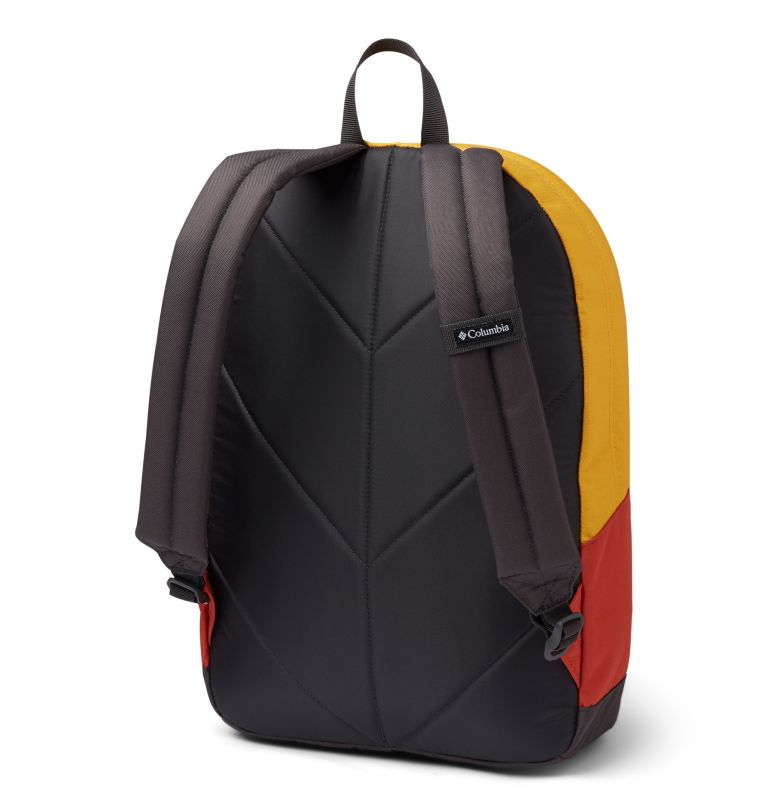 Zigzag™ 22L Backpack | 790 | O/S Zigzag™ 22L Backpack, Bright Gold, Carnelian Red, back