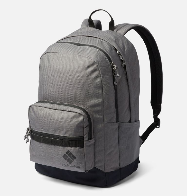 Zigzag™ 30L Backpack | 023 | O/S Zigzag™ 30L Backpack, City Grey Heather, Black, front