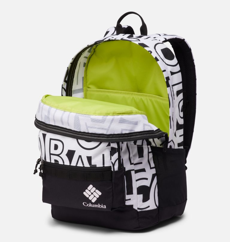Zigzag™ 30L Backpack | 100 | O/S Zigzag™ 30L Backpack, White Typo, Black, a1
