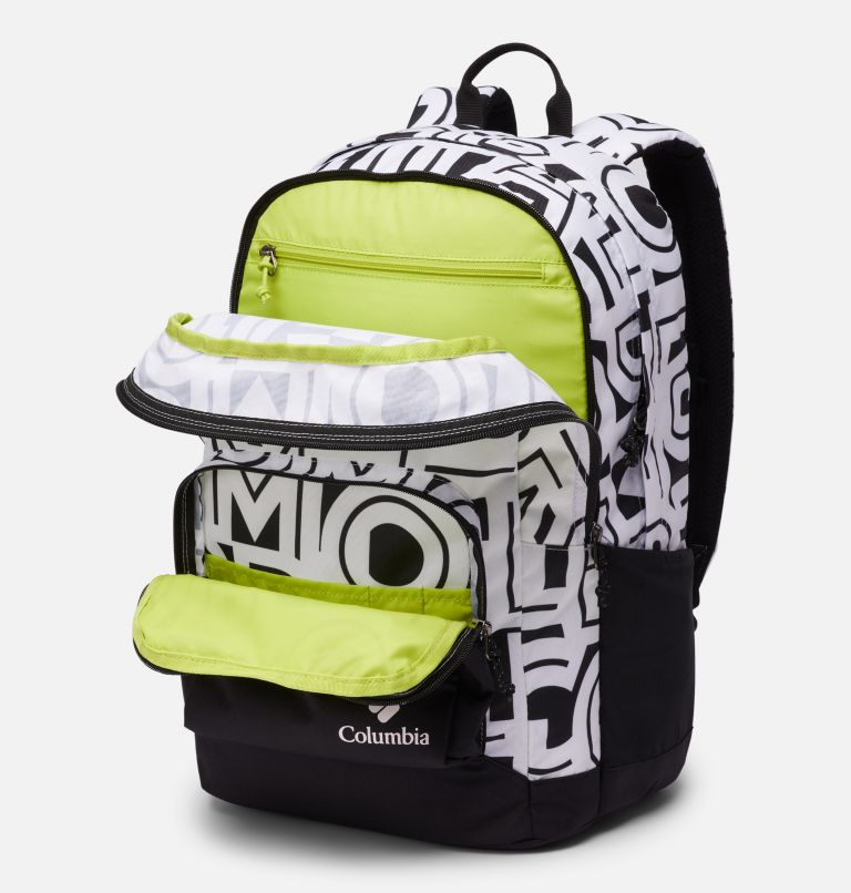 Zigzag™ 30L Backpack | 100 | O/S Zigzag™ 30L Backpack, White Typo, Black, a2