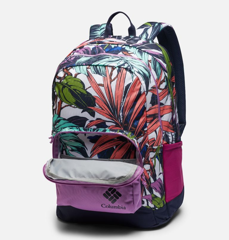 Zigzag™ 30L Backpack   101   O/S Zigzag™ 30L Backpack, White Toucanical, Blossom Pink, a1