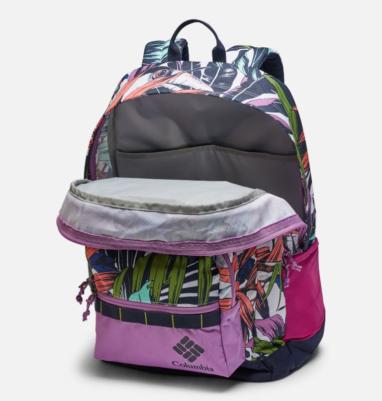 Zigzag™ 30L Backpack | 101 | O/S Zigzag™ 30L Backpack, White Toucanical, Blossom Pink, a2