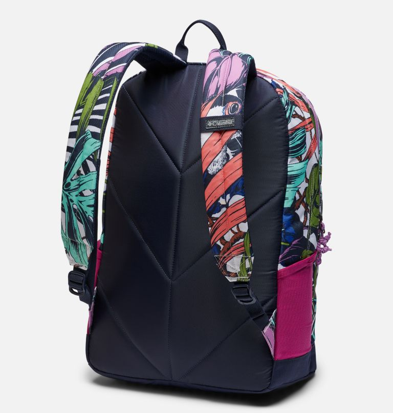 Zigzag™ 30L Backpack | 101 | O/S Zigzag™ 30L Backpack, White Toucanical, Blossom Pink, back