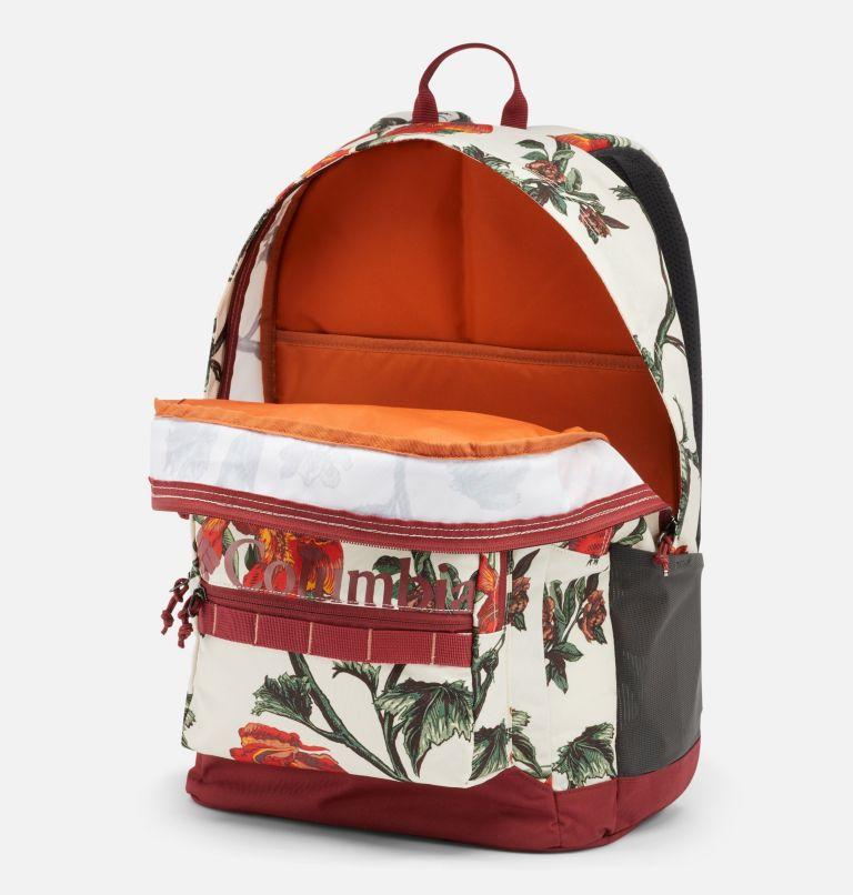 Zigzag™ 30L Backpack   191   O/S Zigzag™ 30L Backpack, Chalk Botanica, Marsala Red, a1